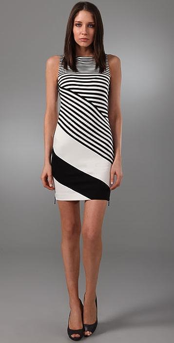 Diane von Furstenberg Striped Leigh Dress