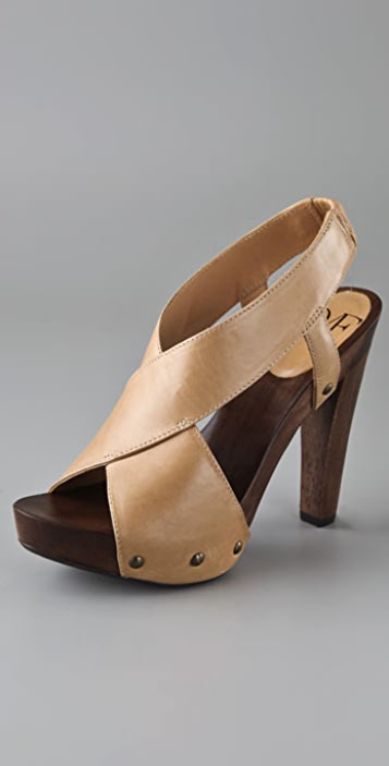 Diane von Furstenberg Flynn Clog Sandals