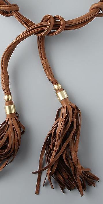 Diane von Furstenberg Julie Leather Belt