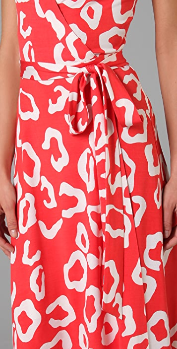 Diane von Furstenberg Samson Wrap Dress
