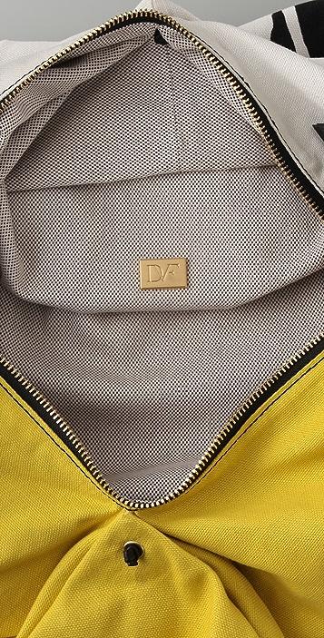 Diane von Furstenberg Laragh Linen Day Bag