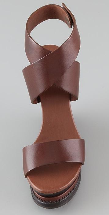 Diane von Furstenberg Omni Wedge Sandals