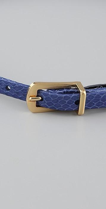 Diane von Furstenberg Ila Snake Belt