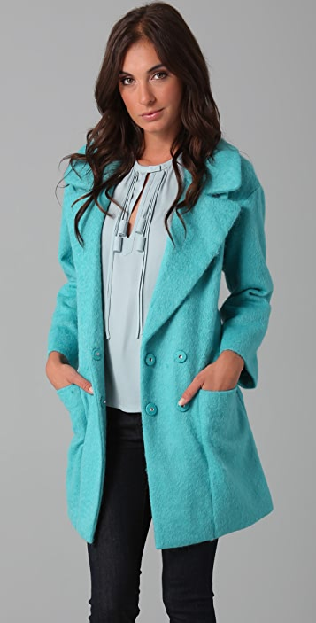 Diane von Furstenberg Harrington Coat