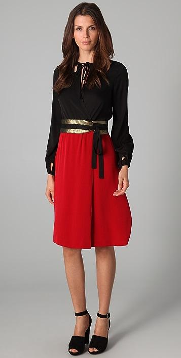 11a99681653b3 Diane von Furstenberg Kiandra Combo Dress | SHOPBOP