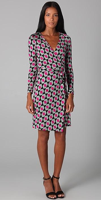 35279c90c4fe Diane von Furstenberg New Julian Wrap Dress