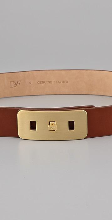 Diane von Furstenberg Seraphina Leather Belt