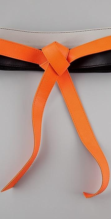Diane von Furstenberg Large Obi Wrap Belt