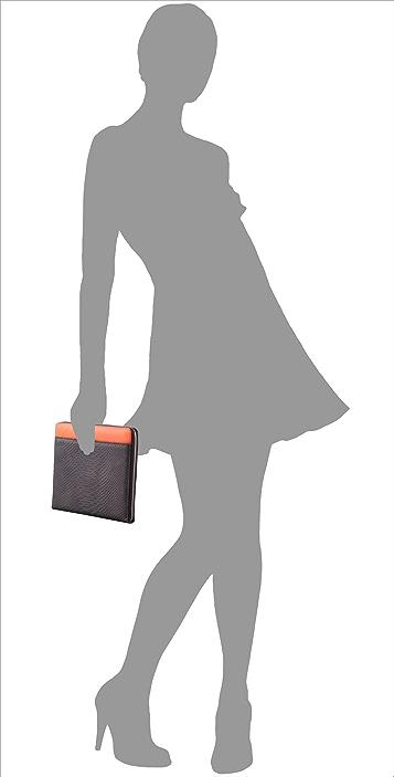 Diane von Furstenberg Embossed Python iPad Case