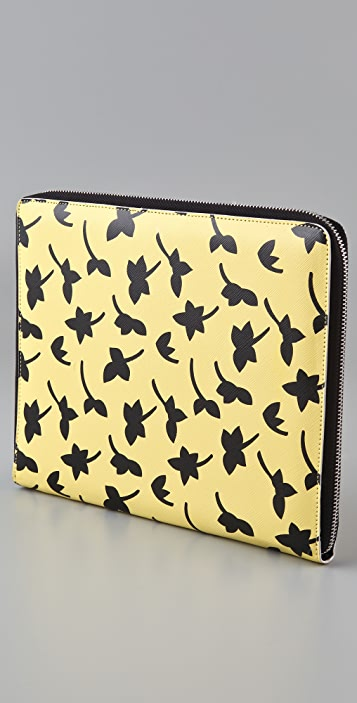 Diane von Furstenberg Petal Dance Medium Paddie iPad Case