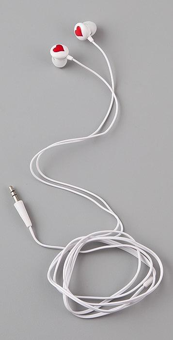 Diane von Furstenberg Chain Link Earbuds