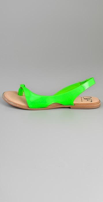 Diane von Furstenberg Kaiti Thong Flat Sandals