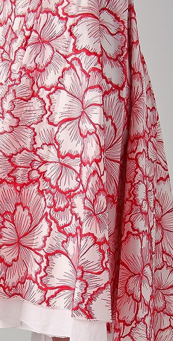 Diane von Furstenberg Adella Threaded Skirt