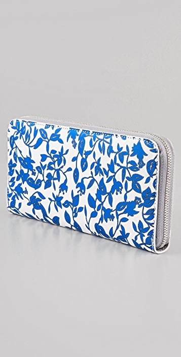 Diane von Furstenberg Vintage Collection Zip Around Wallet