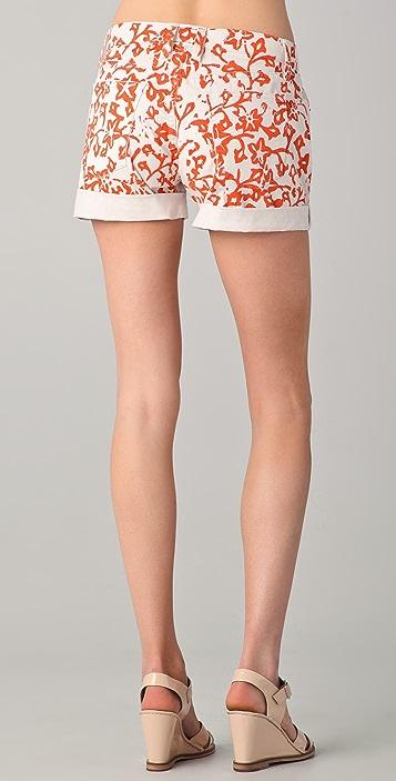Diane von Furstenberg DVF Loves Current / Elliott Classic Rolled Shorts