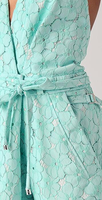 Diane von Furstenberg Johnseen Floral Lace Jumpsuit