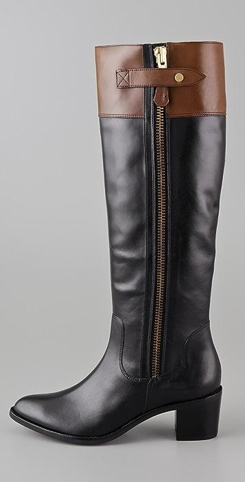 Diane von Furstenberg Gwen Low Heel Boots