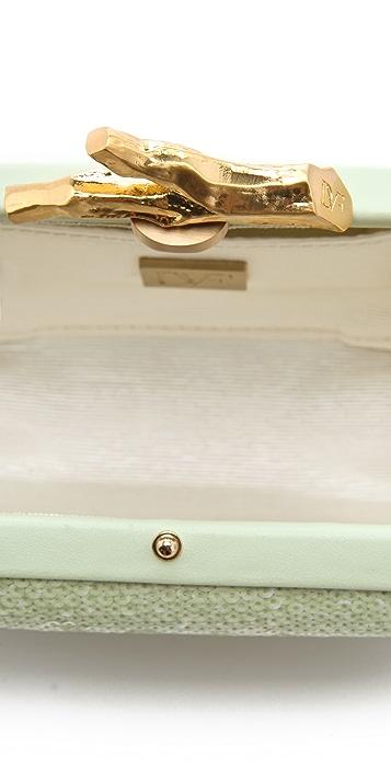 Diane von Furstenberg Lytton Small Sequined Clutch