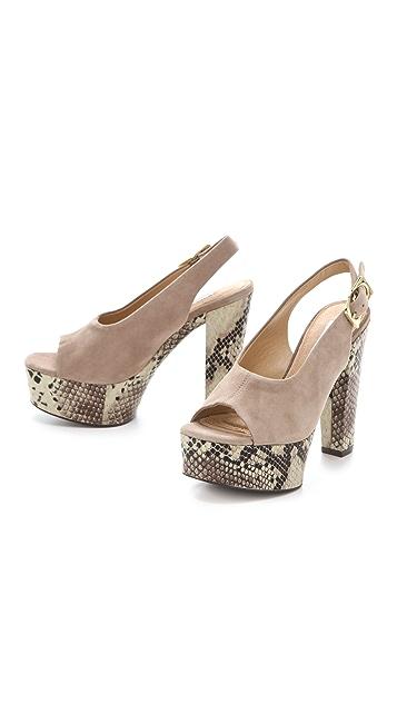 Diane von Furstenberg Robin Choked Sandals