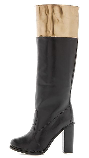 Diane von Furstenberg Shelly High Heel Boots