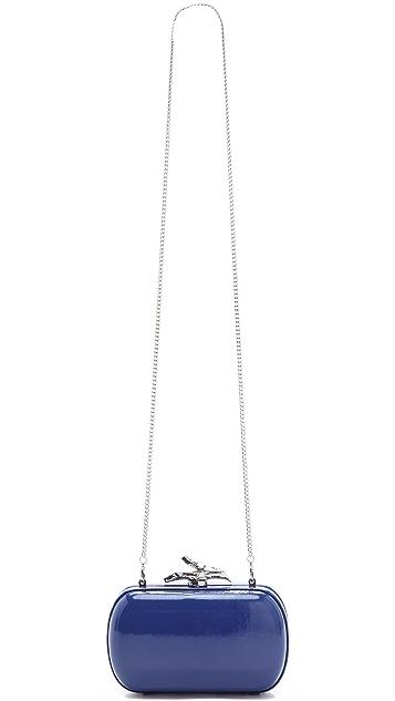 Diane von Furstenberg Lytton Patent Clutch