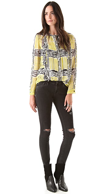 Diane von Furstenberg New Billow Blouse