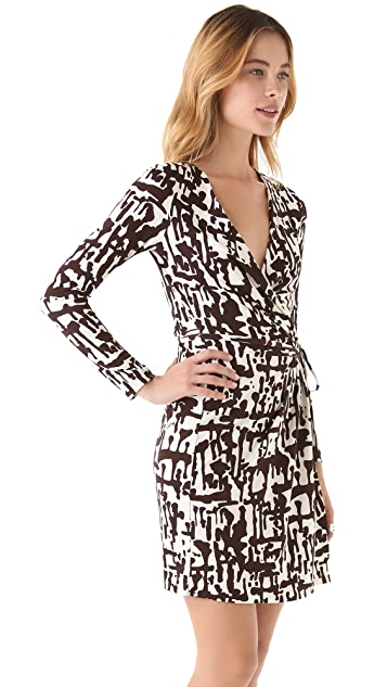 Diane von Furstenberg Callista Long Sleeve Dress