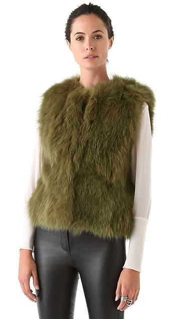 Diane von Furstenberg Neo Fox Vest