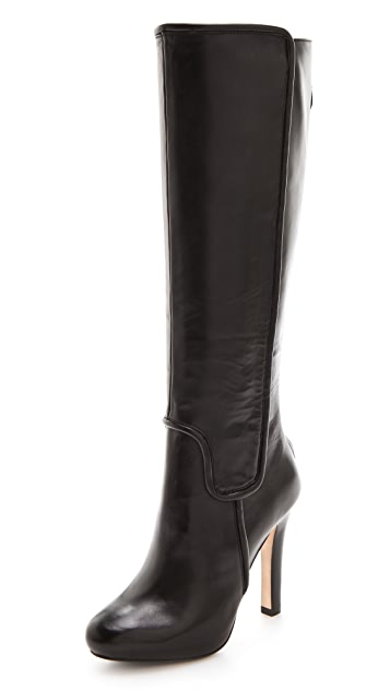 Diane von Furstenberg Crystal High Heel Boots