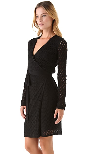 Diane von Furstenberg Richley Ladder Lace Dress