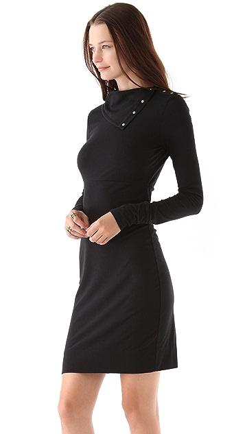 Diane von Furstenberg Turtleneck Dress