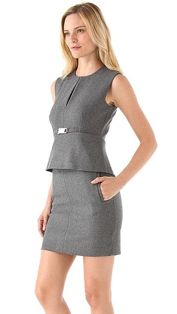 Diane von Furstenberg Deilia Peplum Dress