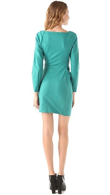 Diane von Furstenberg Hannah Wide Sleeve Dress