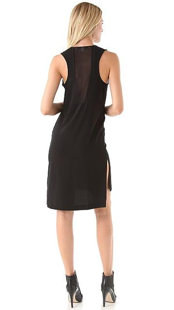 Diane von Furstenberg Meena Dress with Chiffon Panel