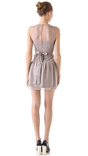 Diane von Furstenberg Yarra Combo Dress