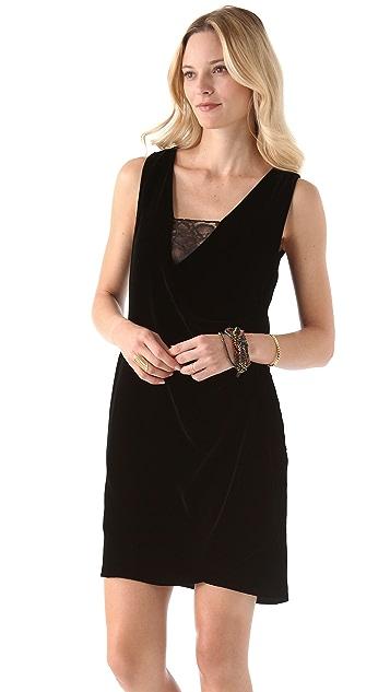 Diane von Furstenberg Casey Velvet Dress