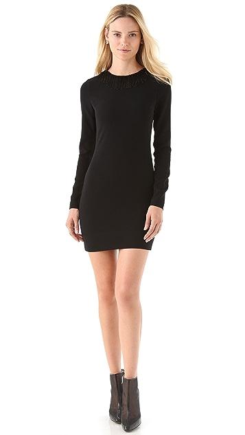 Diane von Furstenberg Margherita Beaded Dress with Open Back