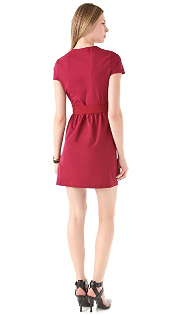 Diane von Furstenberg Alba Two Mini Dress