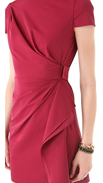 Diane von Furstenberg Alba Two Mini Dress