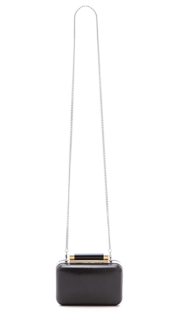 Diane von Furstenberg Tonda Small Crystal Clutch