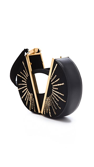 Diane von Furstenberg Limited Edition Sun Circle Clutch