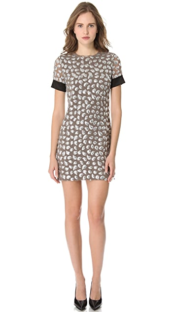 Diane von Furstenberg New Cindy Sequin Dress
