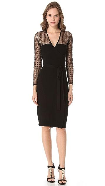 Diane von Furstenberg Zalda Bis Lace Dress