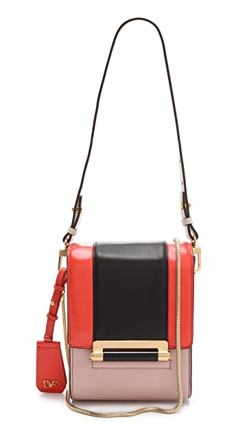 Diane von Furstenberg Parker Mini Colorblock Bag