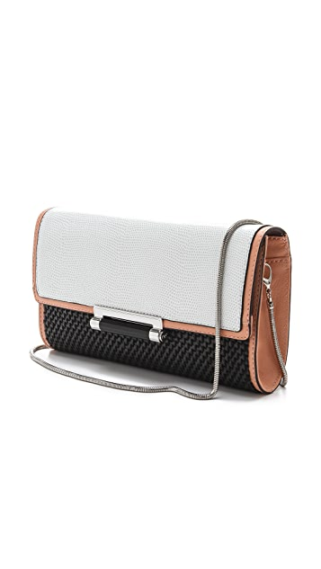Diane von Furstenberg Gracie Bar Clutch