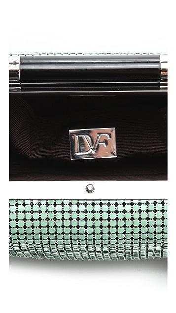 Diane von Furstenberg Tonda Chain Mail Clutch
