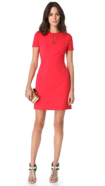 Diane von Furstenberg Agatha Short Sleeve Dress