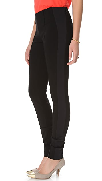 Diane von Furstenberg Imogene Side Panel Leggings