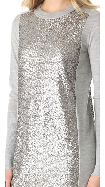 Diane von Furstenberg Danette Sweater Dress