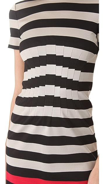 Diane von Furstenberg Yazmine Striped Dress